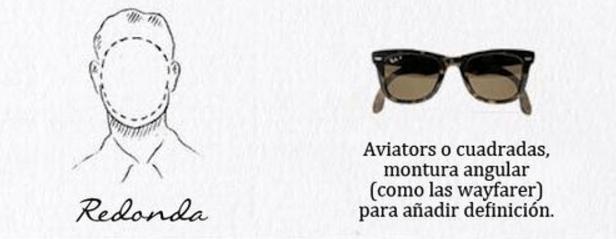 gafas de sol hombre cara redonda