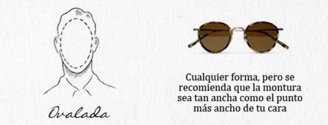 gafas sol hombre cara ovalada