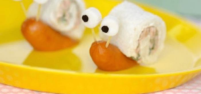 ejemplos comidas niños
