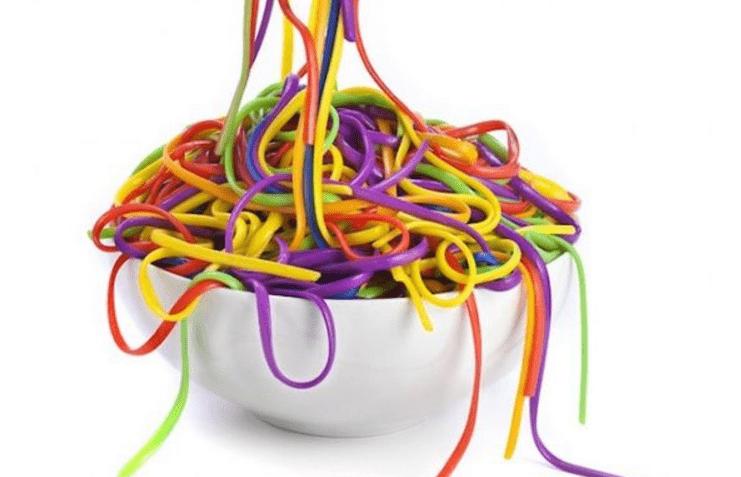 espaguetis niños