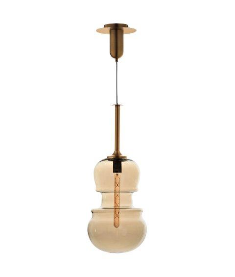 lampara de techo con forma de violin