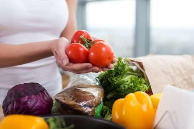 verduras perder peso