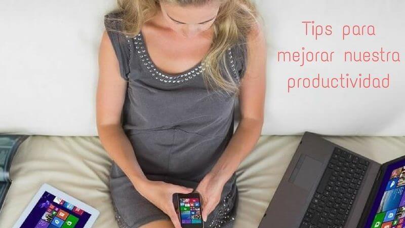 tips mejorar productividad