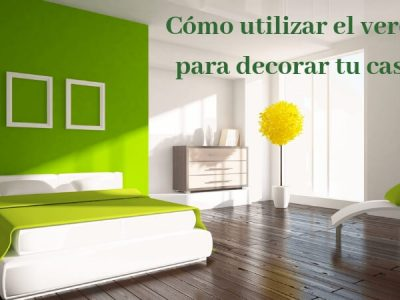 como utilizar le verde para interiores