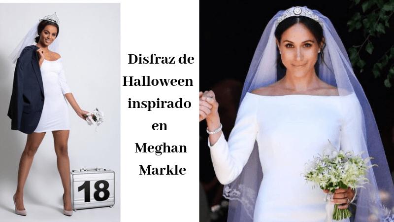 Disfraz inspirado en Meghan Markle