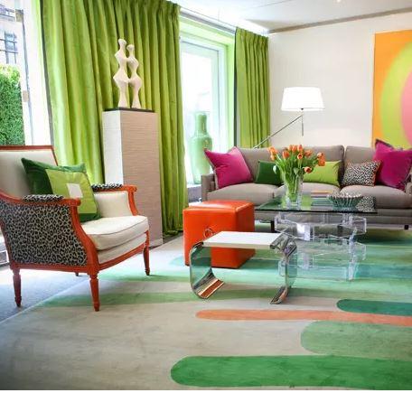 decoracion verde interior