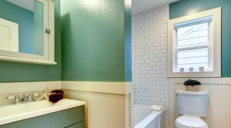 verde baños