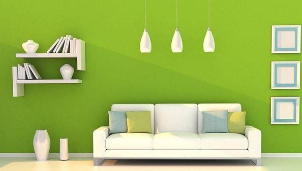 verde interior hogar