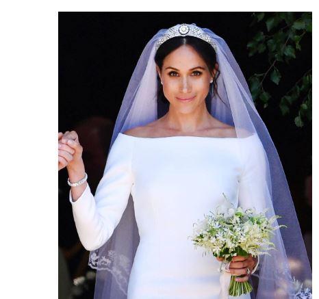 vestido novia meghan