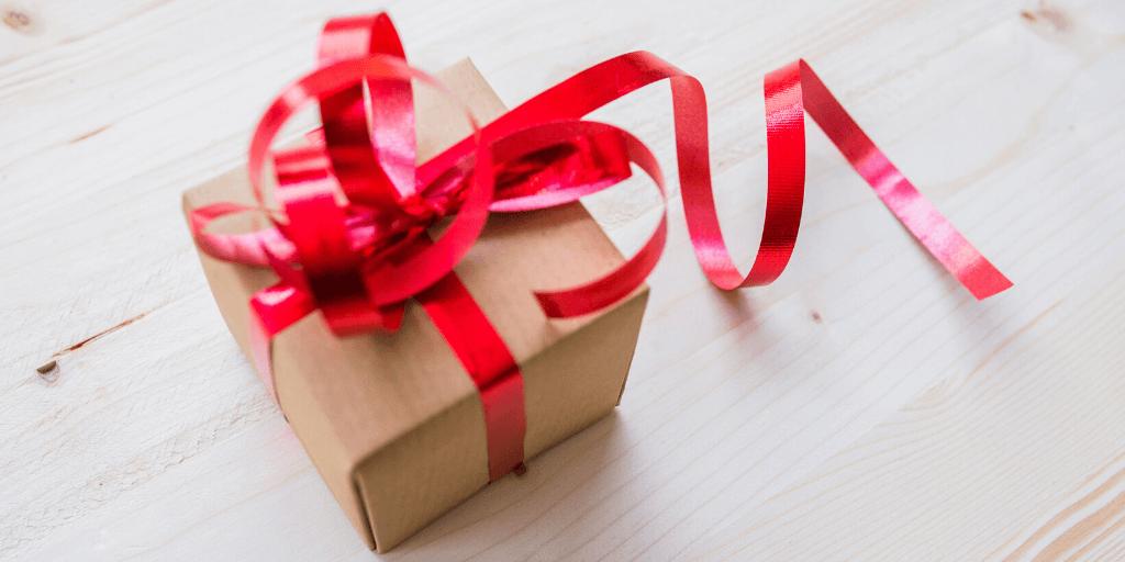 envolver regalo ecologico