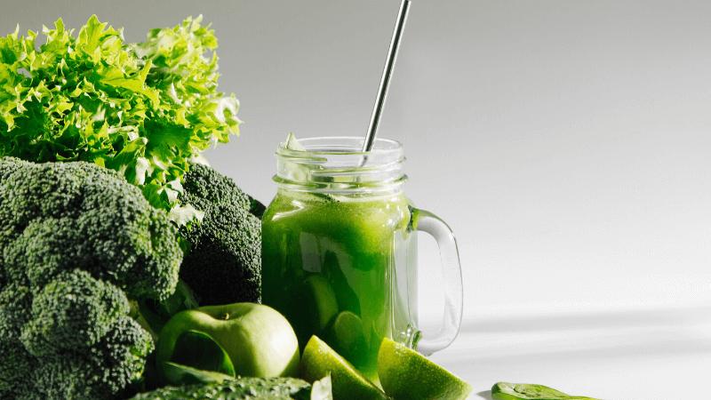 batido vegano para el sistema inmune