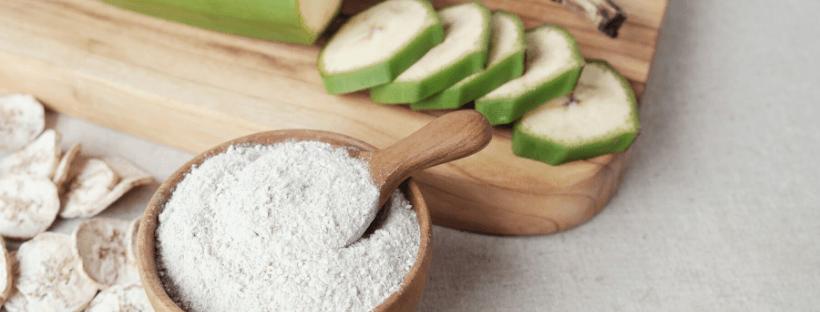 beneficios de la harina de platano verde